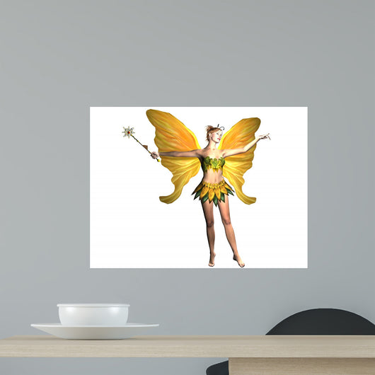 Nature Fairy Wall Decal