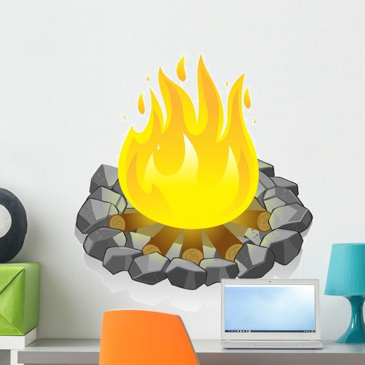Campfire Wall Decal