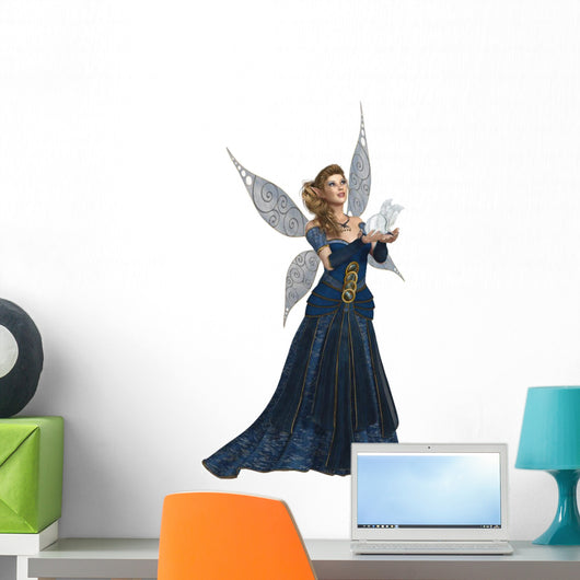 Blue Fairy Wall Decal