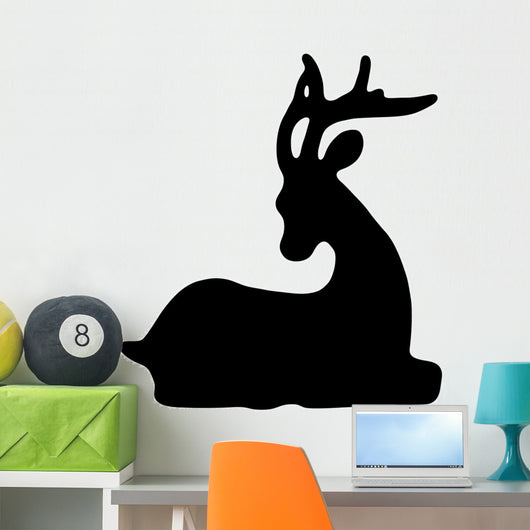 Deer Silhouette Wall Decal