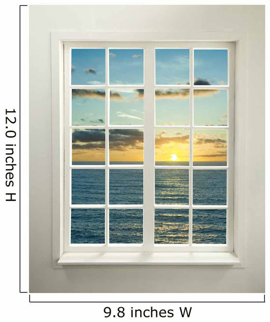 Modern Residential Window Wall Decal