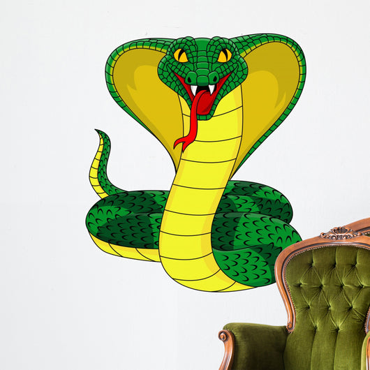 King cobra Wall Decal