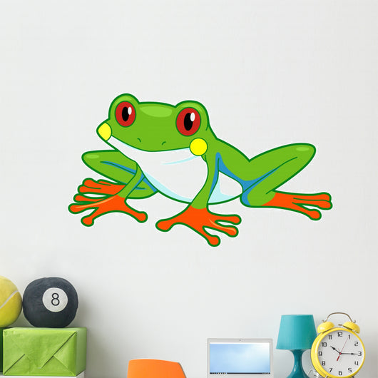 Rainforest Frog Wall Mural