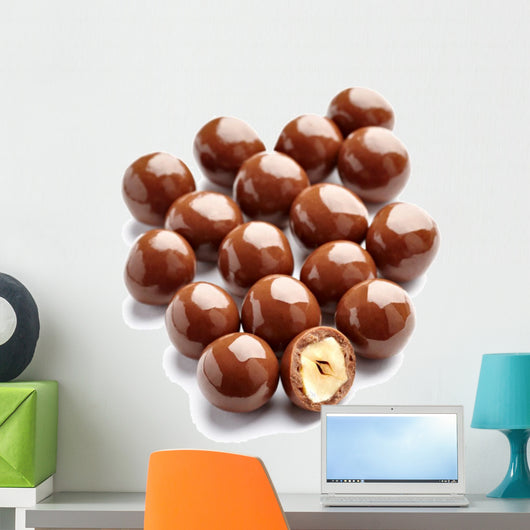 Chocolate Candy with Nut Wall Decal