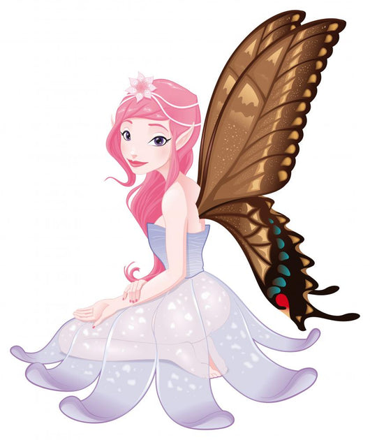 Young Fairy Vector Isolated Character Wall Decal