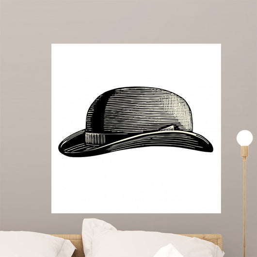 Chapeau Wall Decal