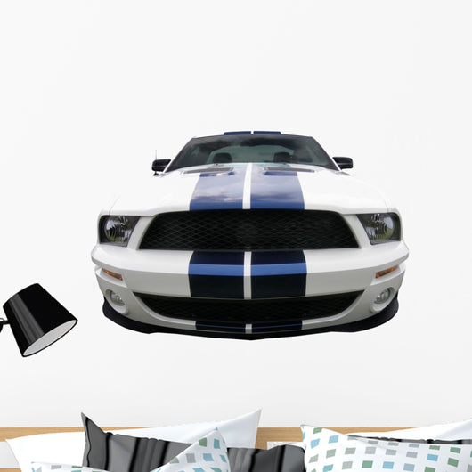 Muscle Wall Decal