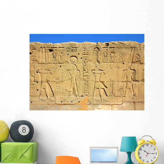 Wall with Ancient Egypt