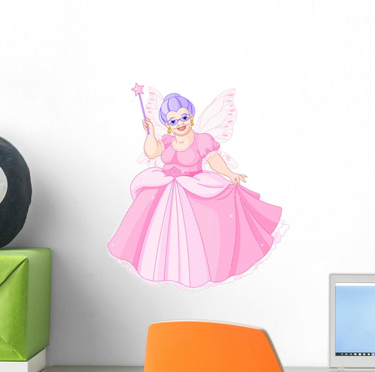 Fairy Godmother Wall Decal