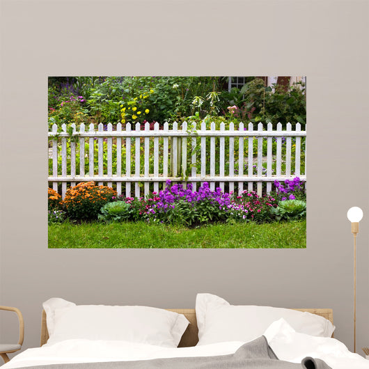 White Picket Fence Surrounded