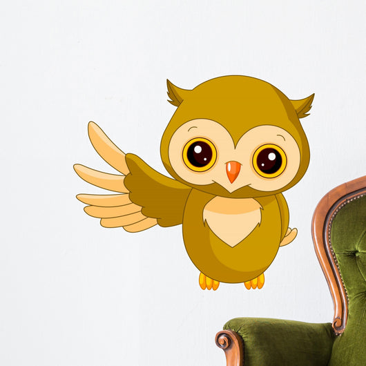 Fun zoo. Owl Wall Decal