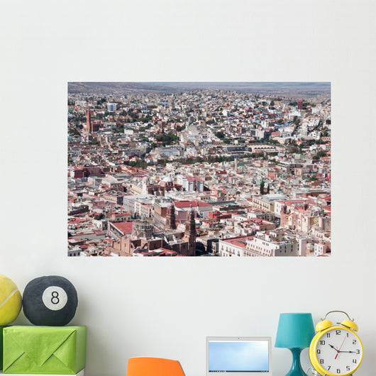 Zacatecas Colorful Town Mexico Wall Mural