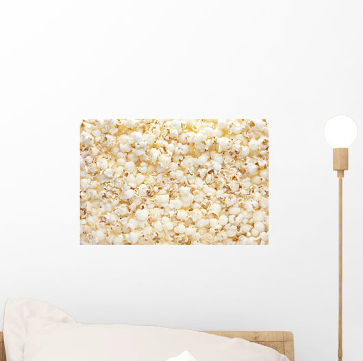Popcorn background Wall Mural