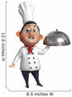 cartoon chef Wall Decal