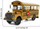 School Bus Wall Decal