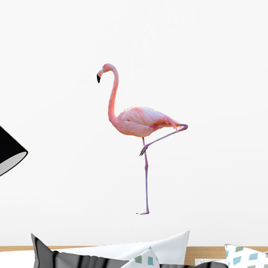 Pink Flamingo Wall Decal