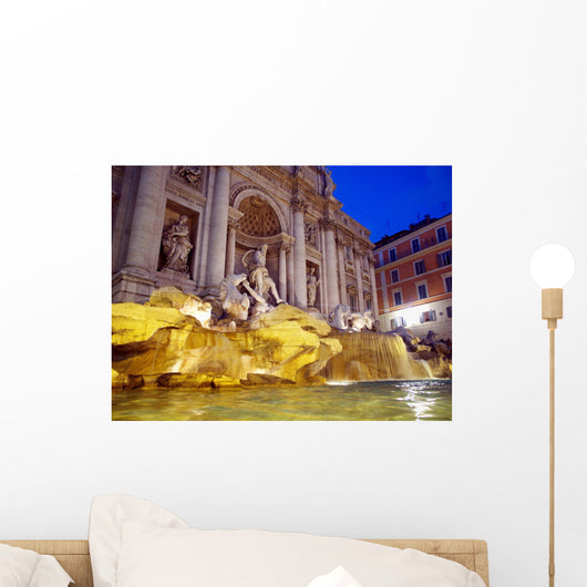 Trevi Fountain Wall Mural