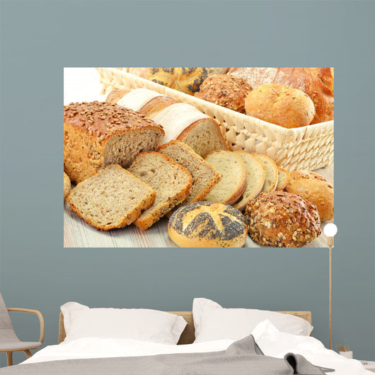 Composition with Bread and