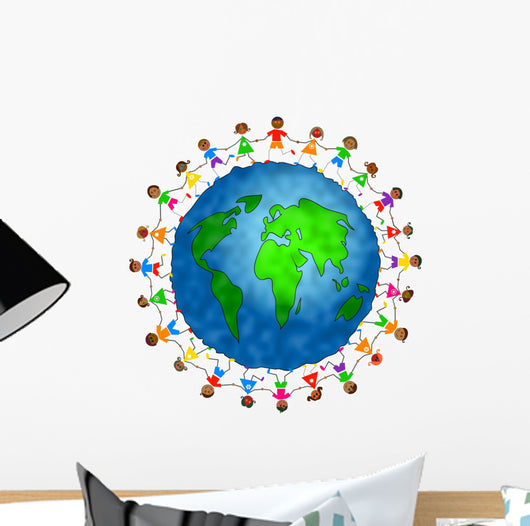 global kids - asian version Wall Decal