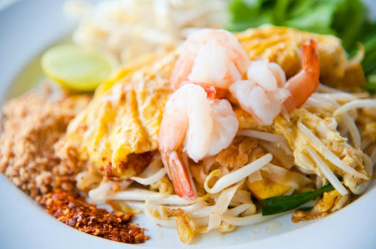 Stir-fried Rice Noodles with