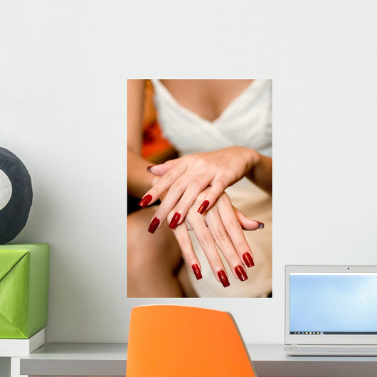 Painted Nails Wall Mural
