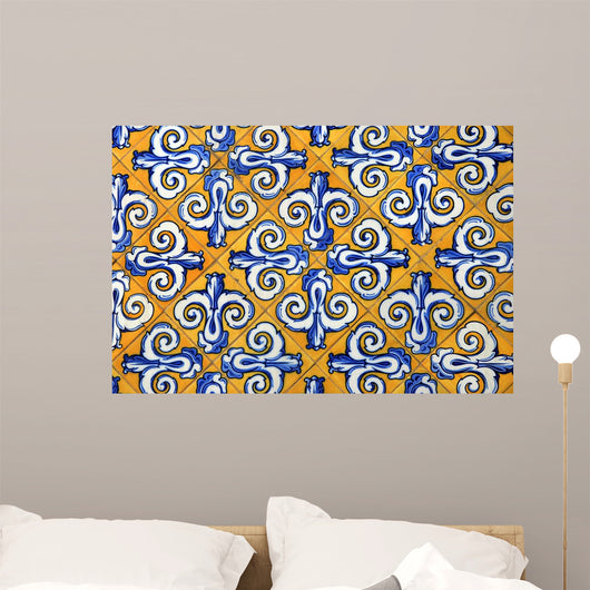 Ceramic Tiles Yellow and