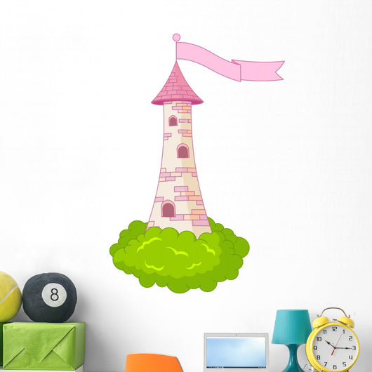 Romantic Tower Wall Decal