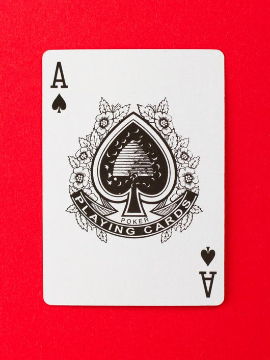 Playing Card (ace) Wall Mural