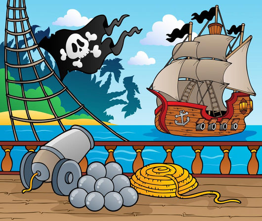 Pirate Ship Deck Theme