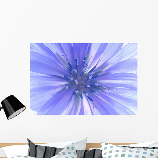 Blue Flower Wall Mural