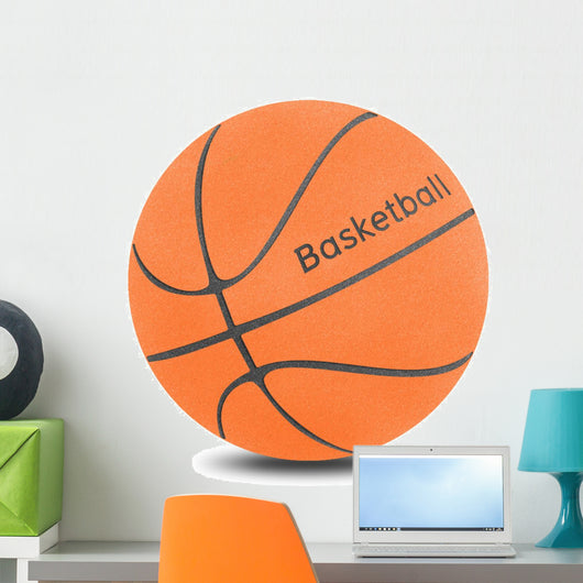 Basketball Ball Cork Board Wall Decal