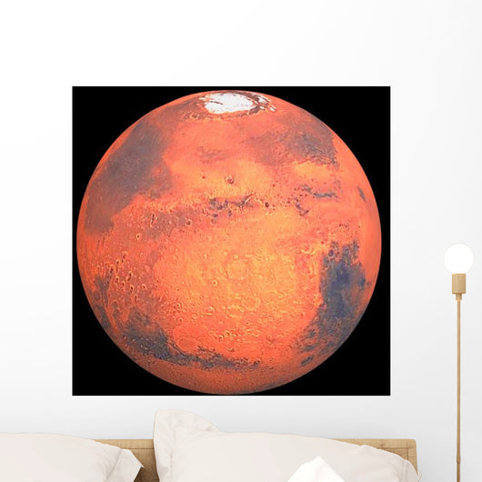 Planet mars the traditional god of war Wall Mural
