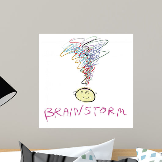 Brainstorm Wall Decal