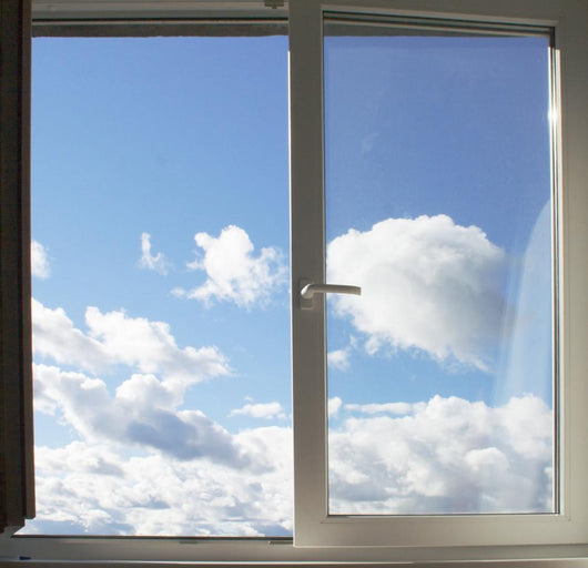 Window and Clouds Wall Decal