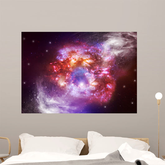 Stars in an Outer Space Wall Mural