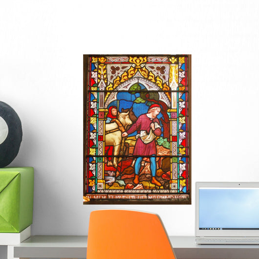 Stained Glass Window 2 Wall Decal