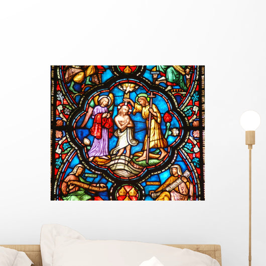 Stained Glass Window 1 Wall Decal