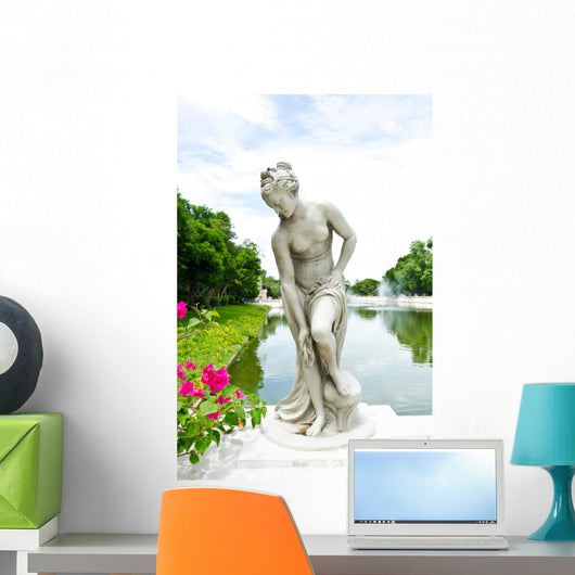 Ancient Marble Statue Woman Wall Decal