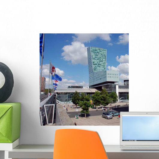 Modern Buildings Lille Wall Decal