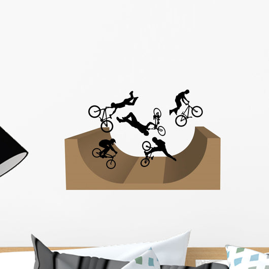 Cycling Bmx Silhouette