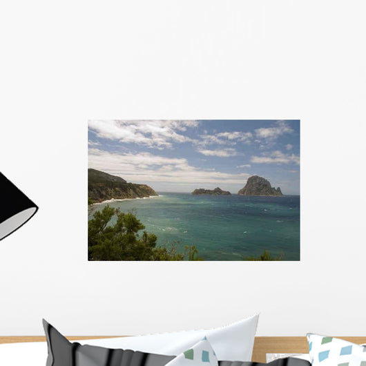 Insel im More Wall Decal