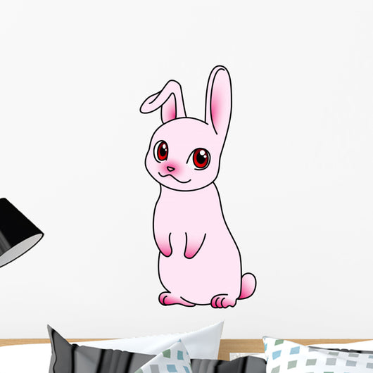 Cartoon Rabbit Wall Decal