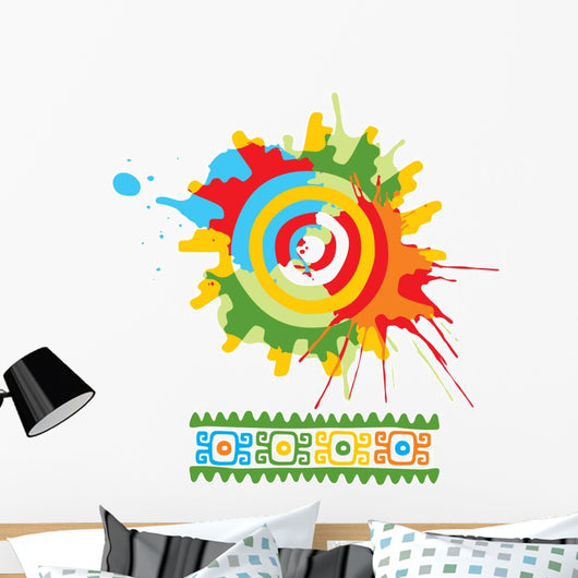 Mexican Design Element Wall Decal