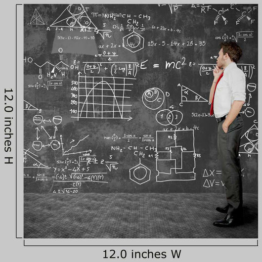 Businessman Solve Problems Wall Decal