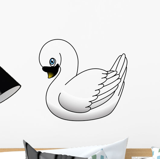 Swan Wall Decal