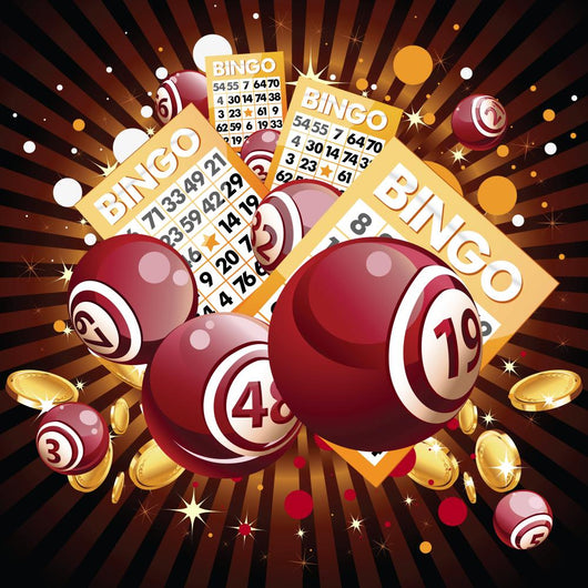 Bingo and Cards Shiny Wall Decal
