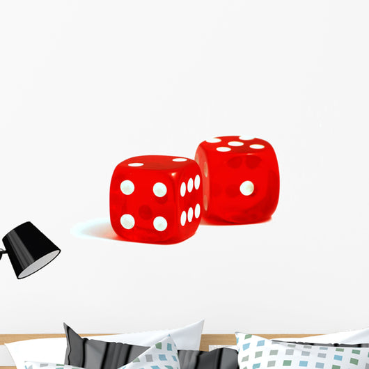 Casino Dices Wall Decal