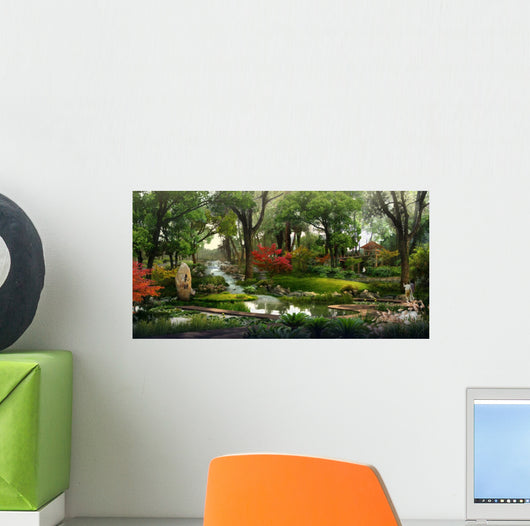 Chinese Park Wall Decal