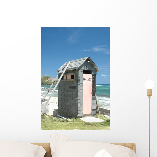 New Outhouse Wall Mural