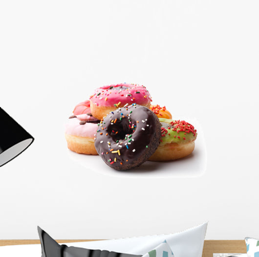 Glazed donuts Wall Decal